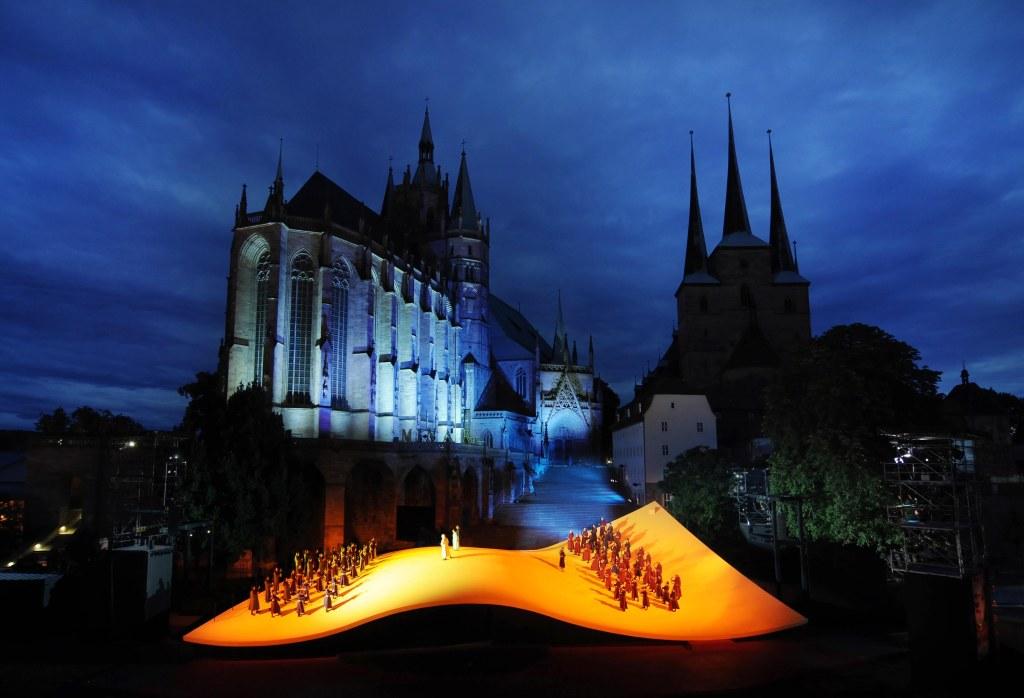 Die Lombarden Premiere am 12.Juli 2012 Domstufenfestspiele