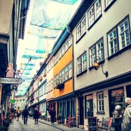 Neulich in Erfurt…