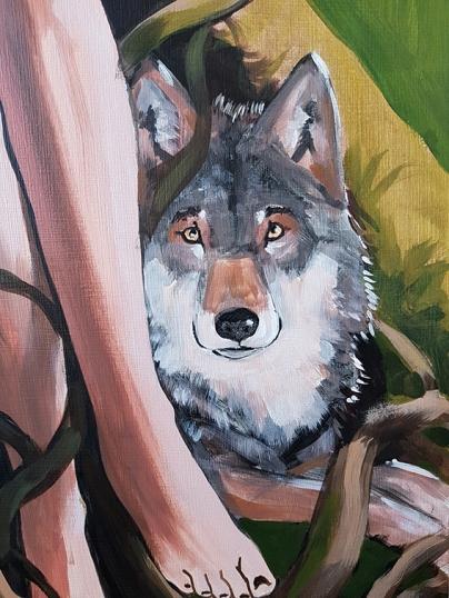 Serie Witchcraft_Bild 5_Detail Wolf