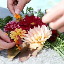 Unsere Blumen kann man essen