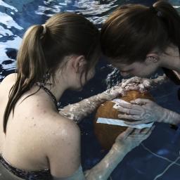 Physik unter Wasser