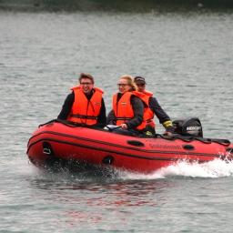 Erfurt: Schnelle Hilfe auf dem See