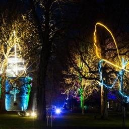 Leuchtende Illusionen im egapark
