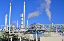 In der Leitwarte der Gas- und Dampfturbinenanlage