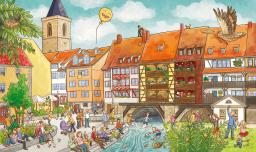 Jetzt gibt es ein Erfurt-Wimmelbuch