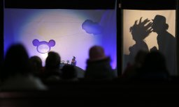 Magische Laterne: Schattentheater