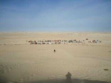 Camp in der Wüste