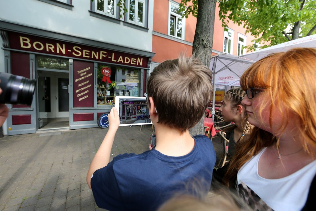 SWE Stadtrallye App - Reportage