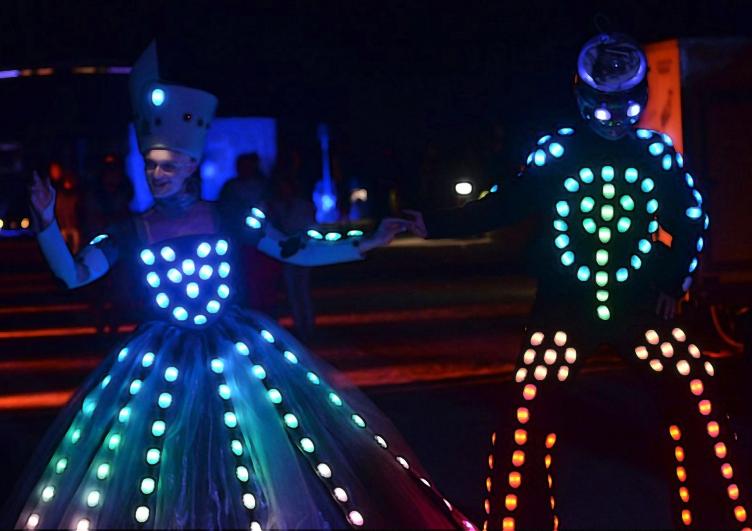 STILTLIFE StreeTTheater LIGHT Duo