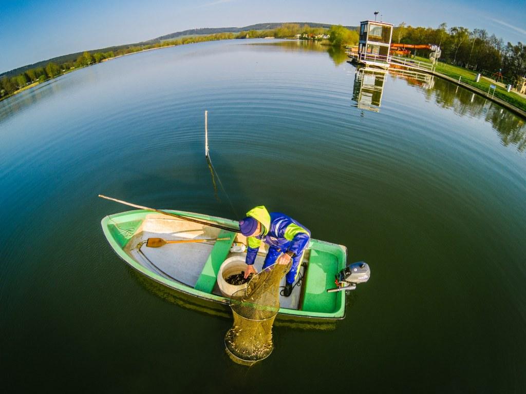 Der Fischer vom Stausee Hohenfelden