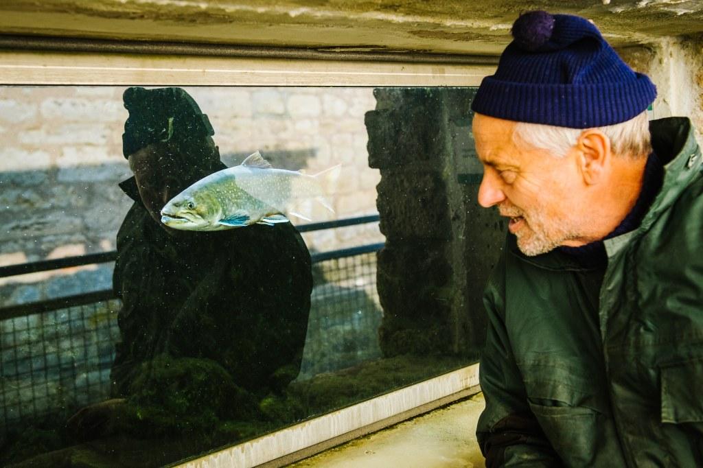Der Fischer vom Stausee Hohenfelden und seine MŸhle