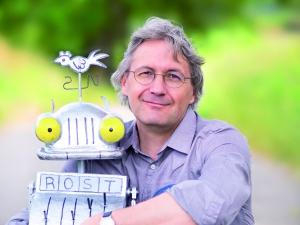 Jörg Hilbert mit Ritter Rost