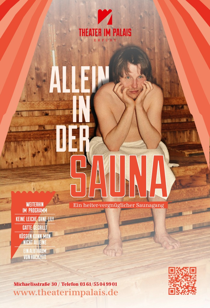 Allen in der Sauna-WEB