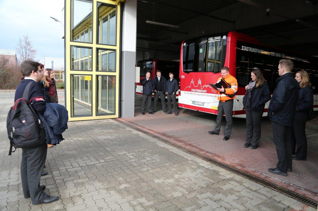 Busfahrer-Contest