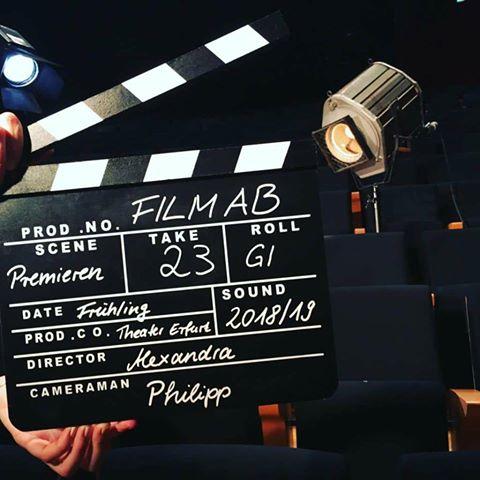Foto Filmklappe