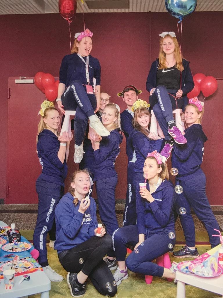 Gruppenspaßfoto Elevator Vereinsmeisterschaft eingene Fotos