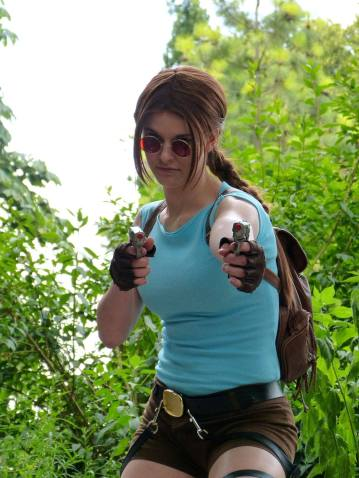 Lisa als Lara Croft (Foto: Lizzy_Foxx_Photo)