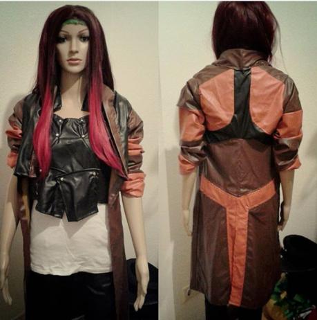 Erste Entwürfe: Gamora-Cosplay (Lizzy_Foxx_Photo)