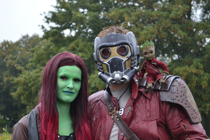 Gamora & Star-Lord Cosplay