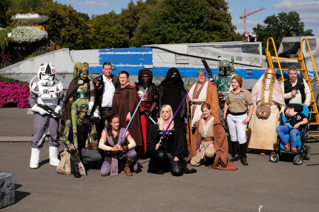 Gruppenfoto zum Comicpark