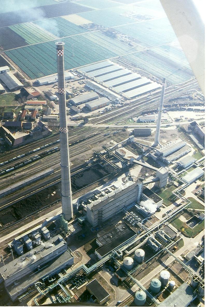 Nov 1994 HW Ost I und IV gemeinsamer Schornstein