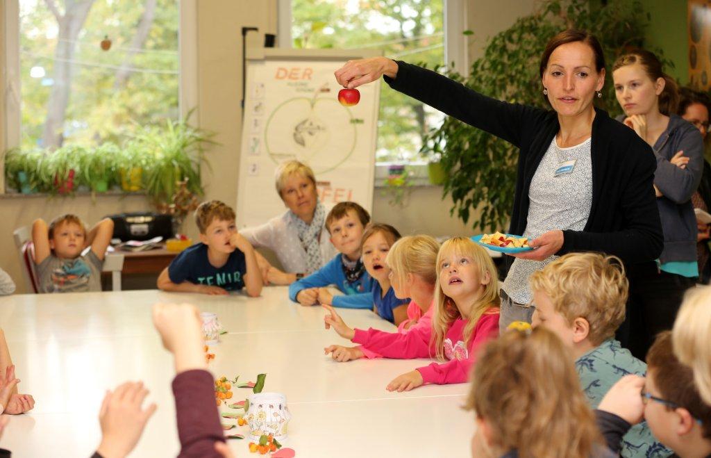 Grünes Klassenzimmer - Der Apfel