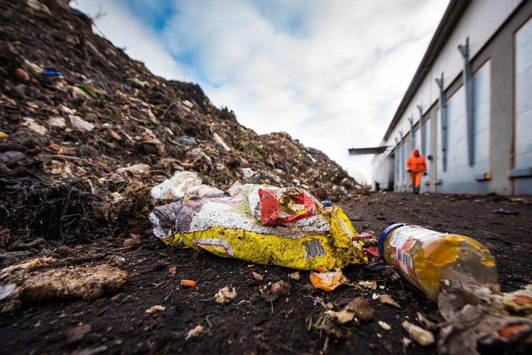 Bioabfallverwertungsanlage
