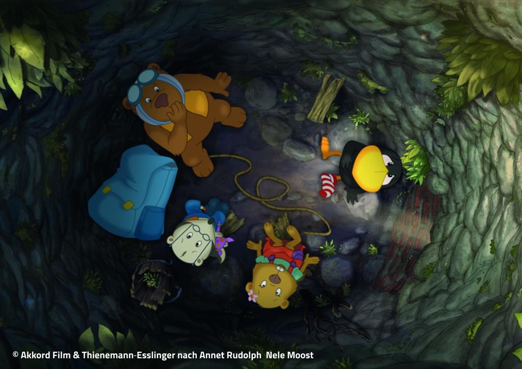 Der kleine Rabe Socke - Suche nach dem verlorenen Schatz3-Achtung Copyright-© Akkord Film & Thienemann‐Esslinger nach Annet Rudolph Nele Moost