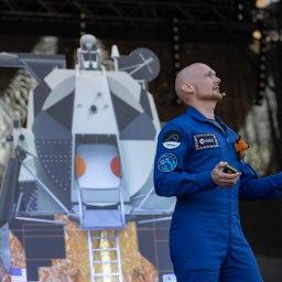 Astro-Alex in Erfurt: Der Mann aus dem All