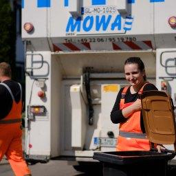 Erfurt: Biotonnenduscherin für einen Tag